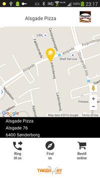 Alsgade Pizza Sønderborg poster