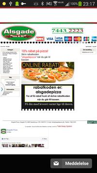 Alsgade Pizza Sønderborg screenshot 1