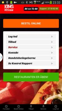 King Pizza Bar apk screenshot