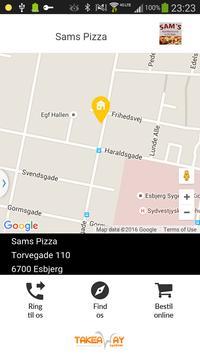 Sams Pizza Esbjerg poster