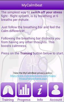 MyCalmBeat screenshot 1
