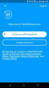 TakeItAbroad screenshot 1