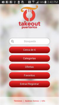 TakeOut Puerto Rico poster