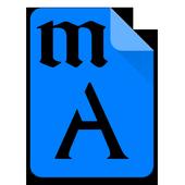 Myanmar Matrix Font icon
