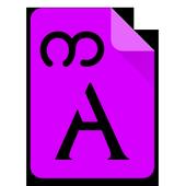 Myanmar Kason Font icon