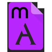 Myanmar Love Font icon