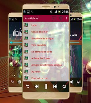 Ana Gabriel+Simplemente amigos apk screenshot