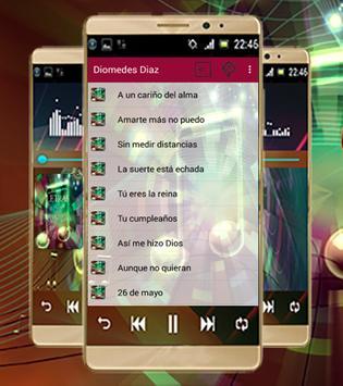 Diomedes Diaz Mejores Letras screenshot 1