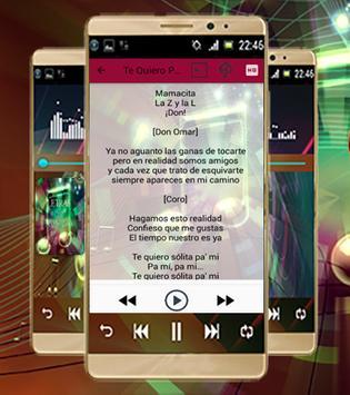 Don Omar Letras De Canciones apk screenshot