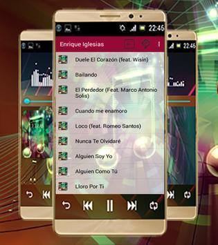 Enrique Iglesias-Mejores Letra screenshot 1