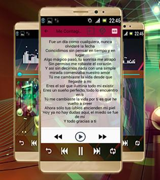 Letra De La Canción-Rio Roma apk screenshot