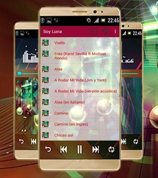 Letra de la canción-Soy Luna screenshot 1