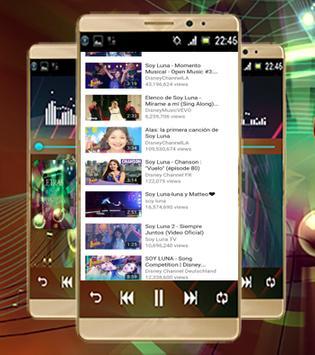 Letra de la canción-Soy Luna screenshot 3