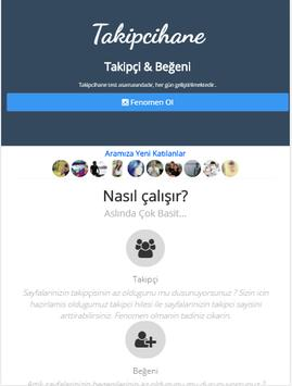 Takipçihane apk screenshot
