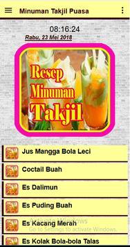 Minuman Takjil Berbuka Puasa screenshot 9