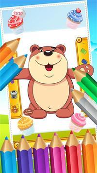Teddy Bear Coloring Drawing screenshot 4