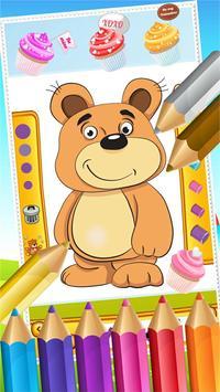 Teddy Bear Coloring Drawing screenshot 12