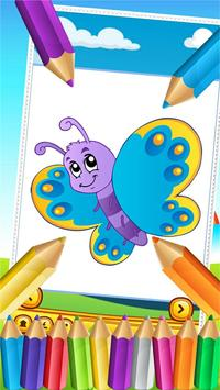Butterfly Fairy Coloring Book screenshot 3