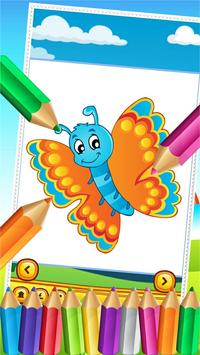 Butterfly Fairy Coloring Book screenshot 1