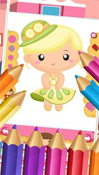 Little Princess Food Coloring poster