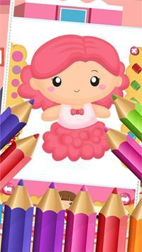 Little Princess Food Coloring screenshot 1