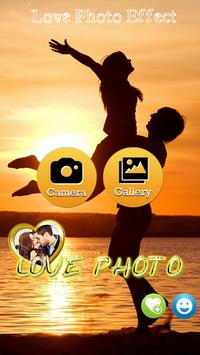 Love Photo Effect poster