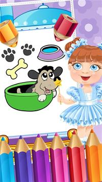 My Pet Puppy Coloring Book screenshot 1