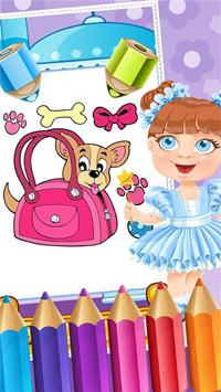 My Pet Puppy Coloring Book screenshot 2