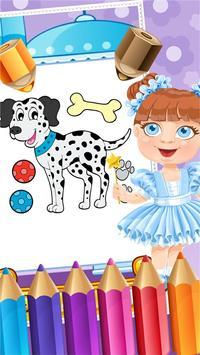 My Pet Puppy Coloring Book screenshot 3