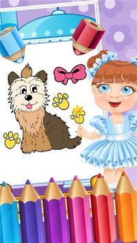 My Pet Puppy Coloring Book screenshot 4