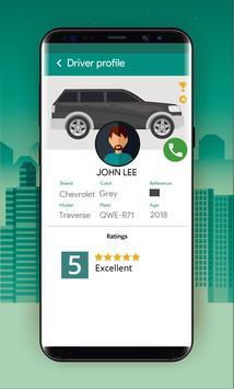 Taksio - rider apk screenshot