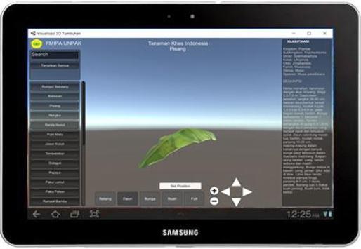 VISUALISASI 3D KAMUS TAKSONOMI TUMBUHAN screenshot 3