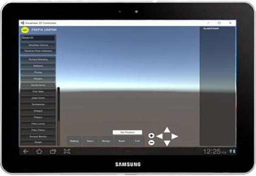 VISUALISASI 3D KAMUS TAKSONOMI TUMBUHAN screenshot 1