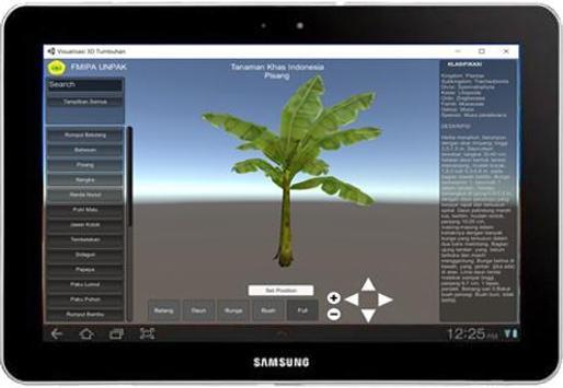 VISUALISASI 3D KAMUS TAKSONOMI TUMBUHAN screenshot 5