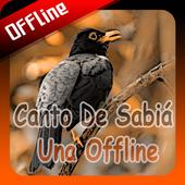 Canto De Sabiá Una Offline icon