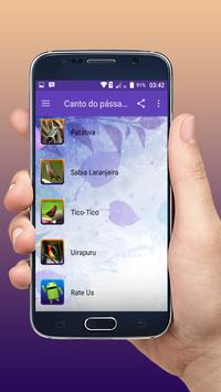 Canto do pássaro sibite novo offline apk screenshot