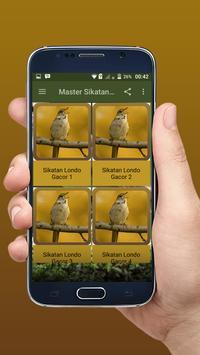 Master Sikatan Londo Gacor Terbaik Offline apk screenshot