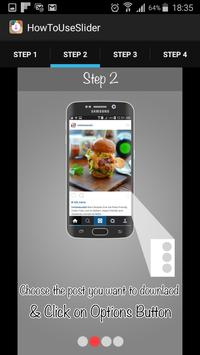 Instasave apk screenshot
