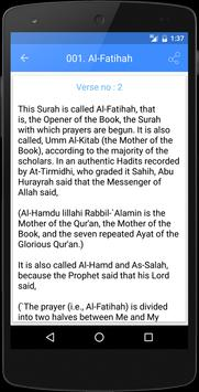 Tafseer Ibne Kathir English apk screenshot