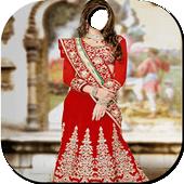 Bridal look photo frames icon