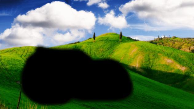 Green Hills Phot frames apk screenshot