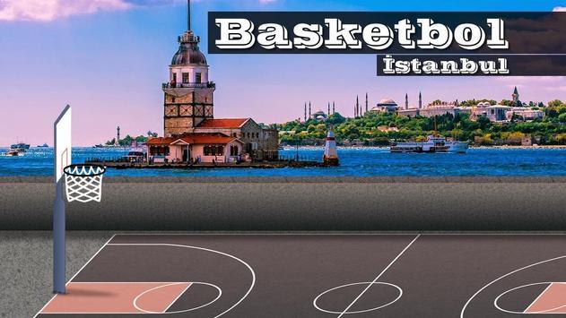 Basketball Istanbul plakat