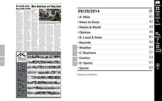 Tahlequah Daily Press apk screenshot