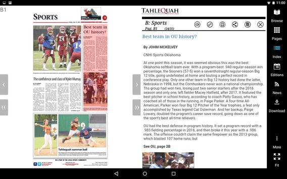 Tahlequah Daily Press screenshot 6