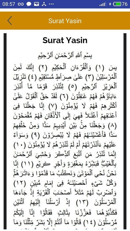 Surat Yasin Lengkap Latin Dan Arab Surat Yasin J