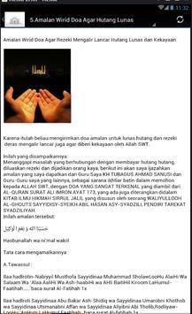 Do'a Cepet Kaya screenshot 4