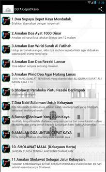 Do'a Cepet Kaya screenshot 5