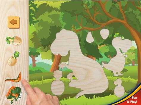 Dinosaurs puzzles for kids screenshot 11