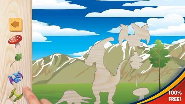 Dinosaurs puzzles for kids screenshot 2