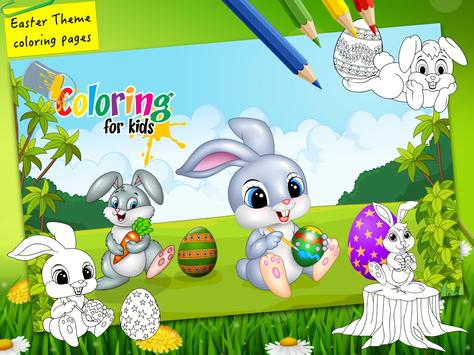 Easter Bunny Egg Coloring Book Screenshot 10